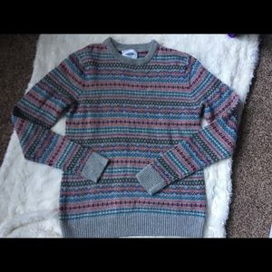 Old Navy wool blend knit sweater SM